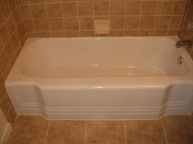 Tub chip repair and refinishing in china gloss white